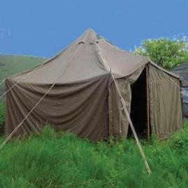 Tentes, lits de camp