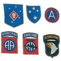LES PATCHES WORLD WAR II